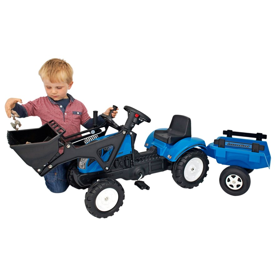 Landini 110 Tractor, Trailer and Loader image-0