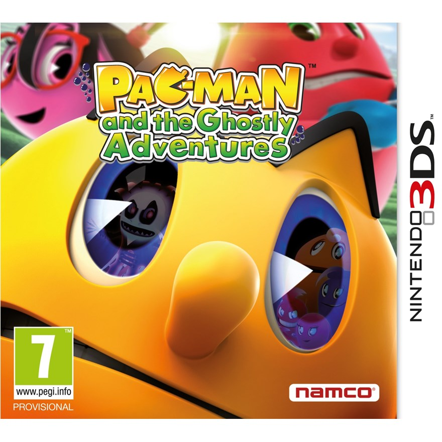 Pac-Man and the Ghostly Aventures 3DS image-0