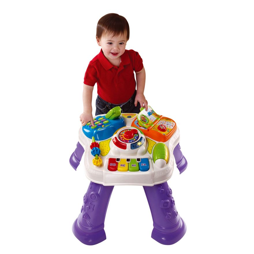 VTech Baby Play & Learn Activity Table image-0