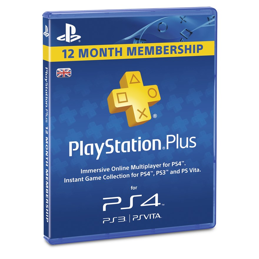 PlayStation®Plus: 12 Month Membership image-0