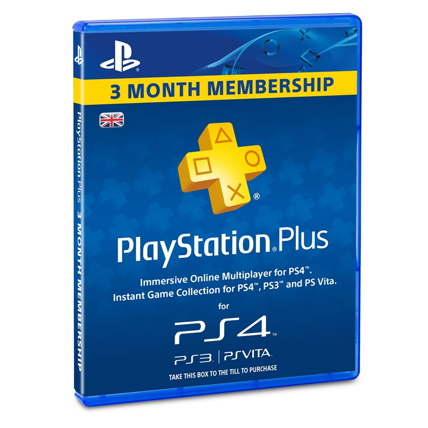 PlayStation®Plus: 3 Month Membership image-0