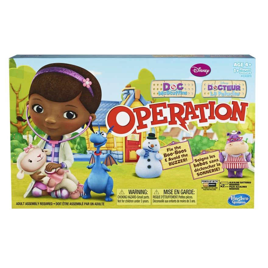 Disney Doc McStuffins Operation Board Game image-0