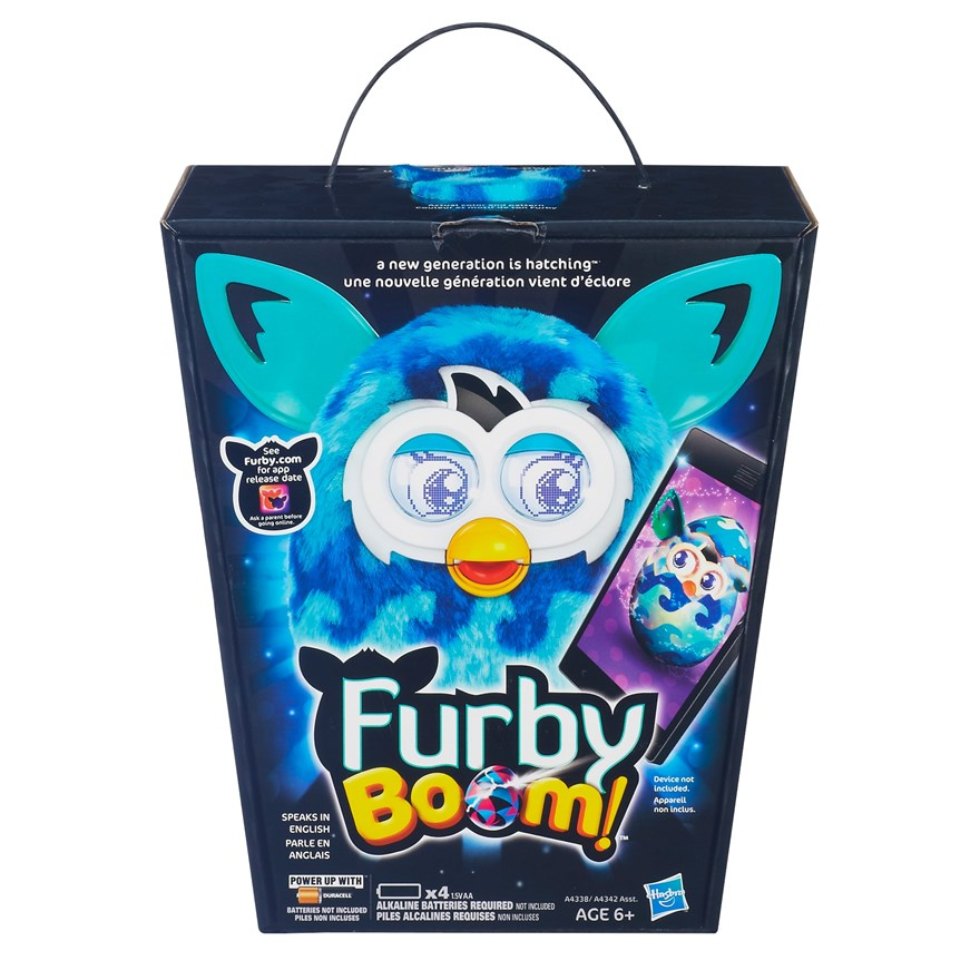 Furby Boom Sweet Waves Blue Wave image-4