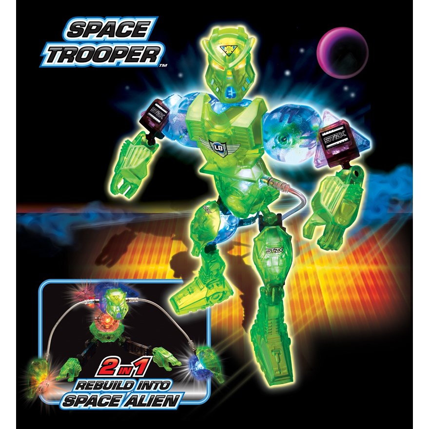 Lite Brix Space Trooper