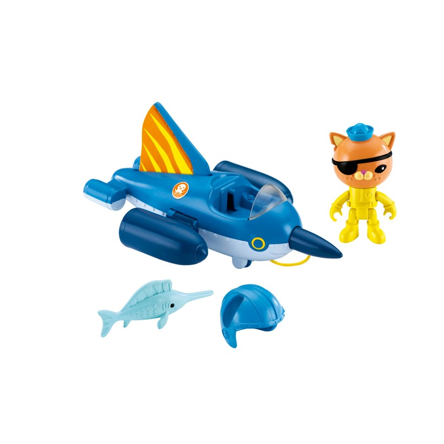 Octonauts Gup-R Sailfish Vehicle image-2