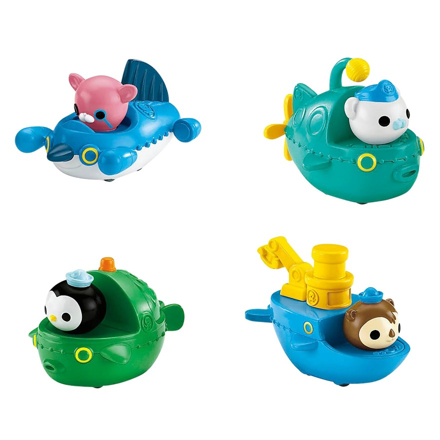 Octonauts Gup Speeders 4 Pack image-0