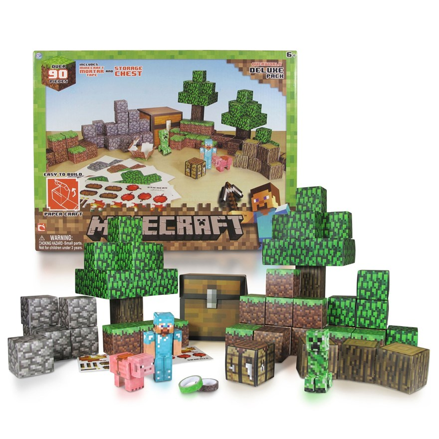 Minecraft Papercraft Overworld Set image-2