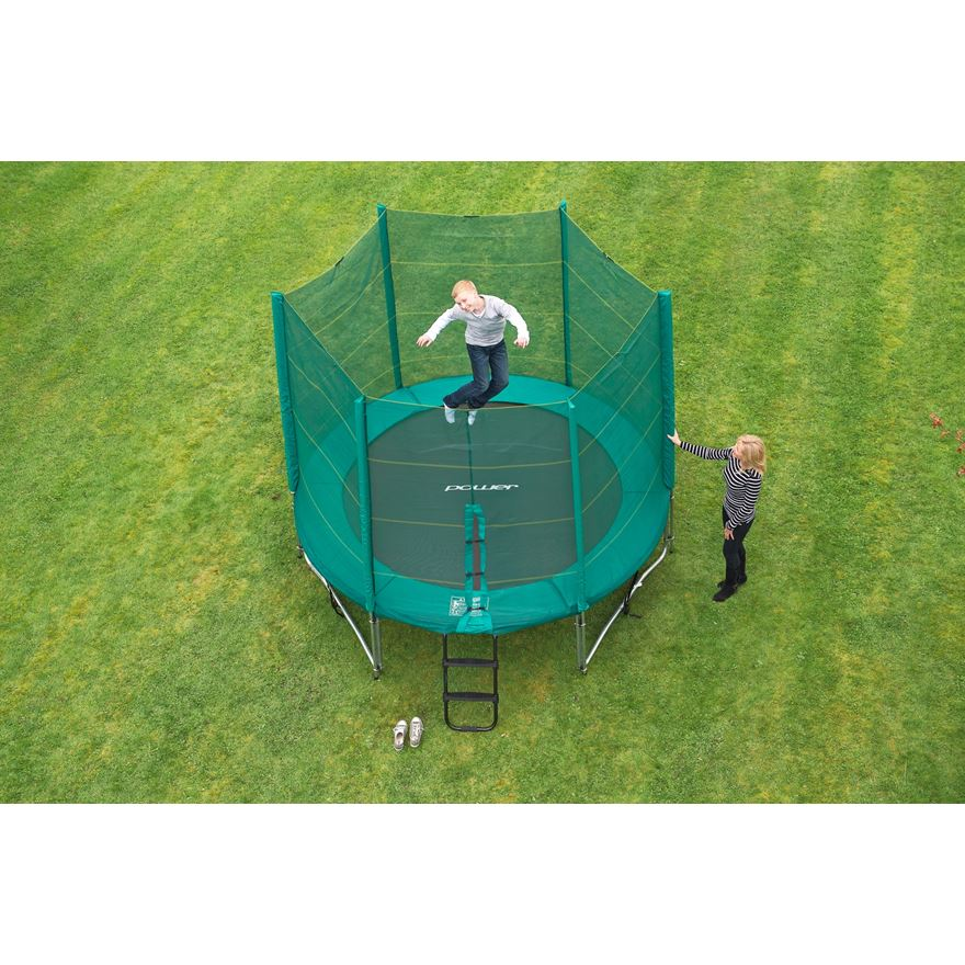 10ft Trampoline and Enclosure image-4