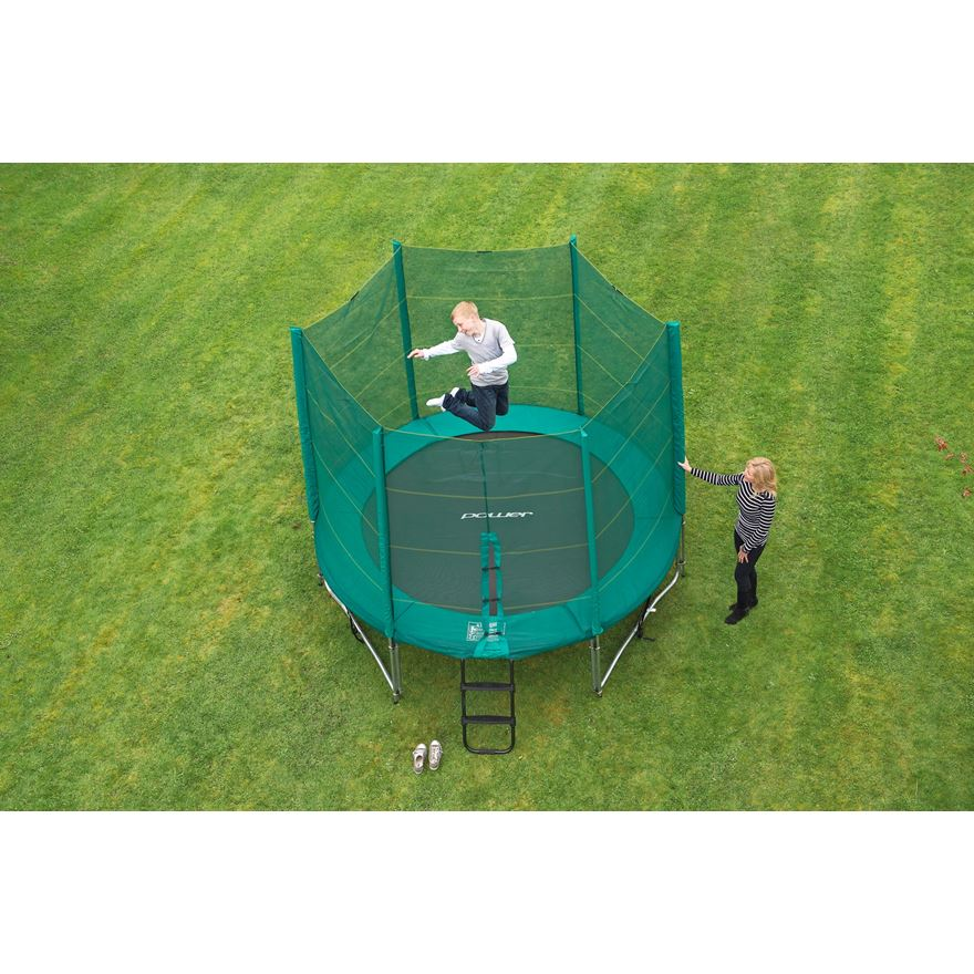 10ft Trampoline and Enclosure image-5