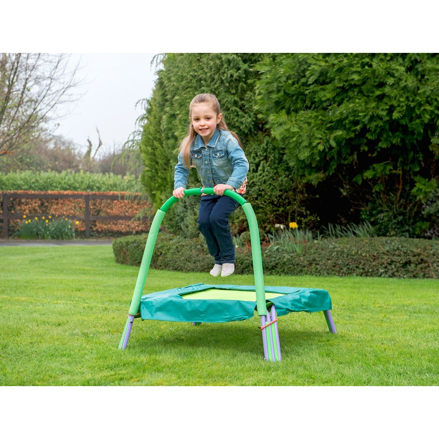 Junior Trampoline with Handle image-0