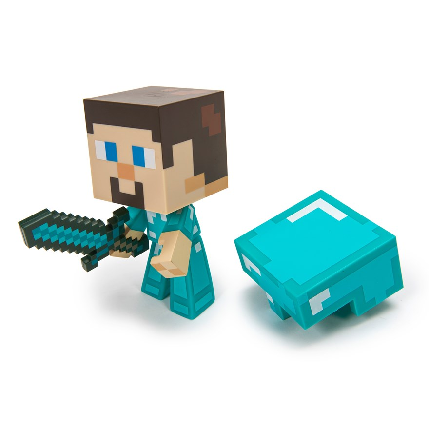 Minecraft Vinyl Diamond Steve image-5