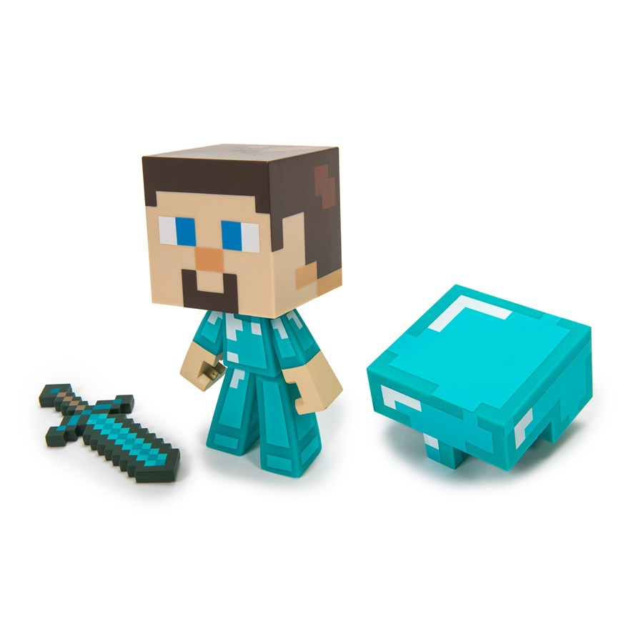 Minecraft Vinyl Diamond Steve image-7