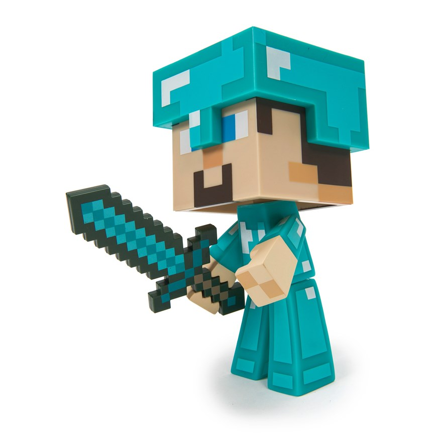 Minecraft Vinyl Diamond Steve image-8