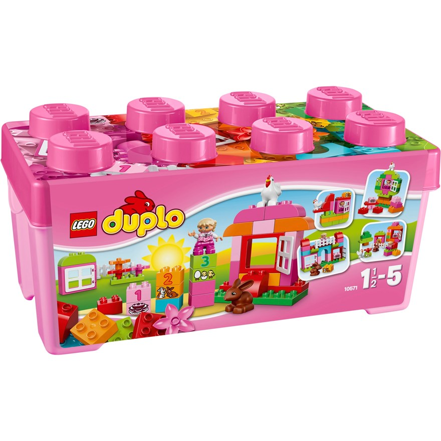 LEGO Duplo All-in-One-Pink-Box-of-Fun 10571 image-0