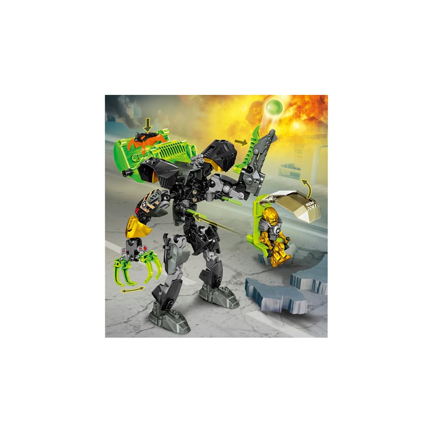LEGO Hero Factory Rocka Stealth Machine 44019 image-2