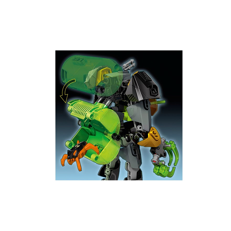 LEGO Hero Factory Rocka Stealth Machine 44019 image-4