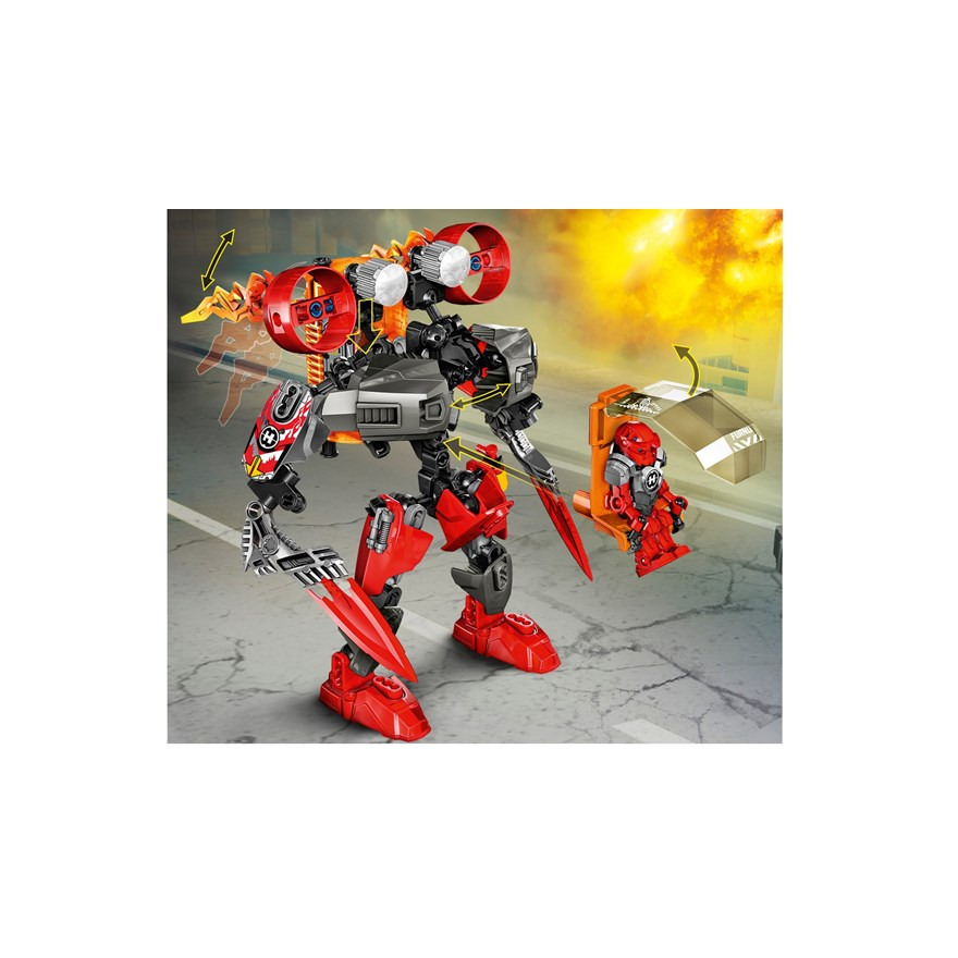 LEGO Hero Factory Furno Jet Machine 44018 image-1