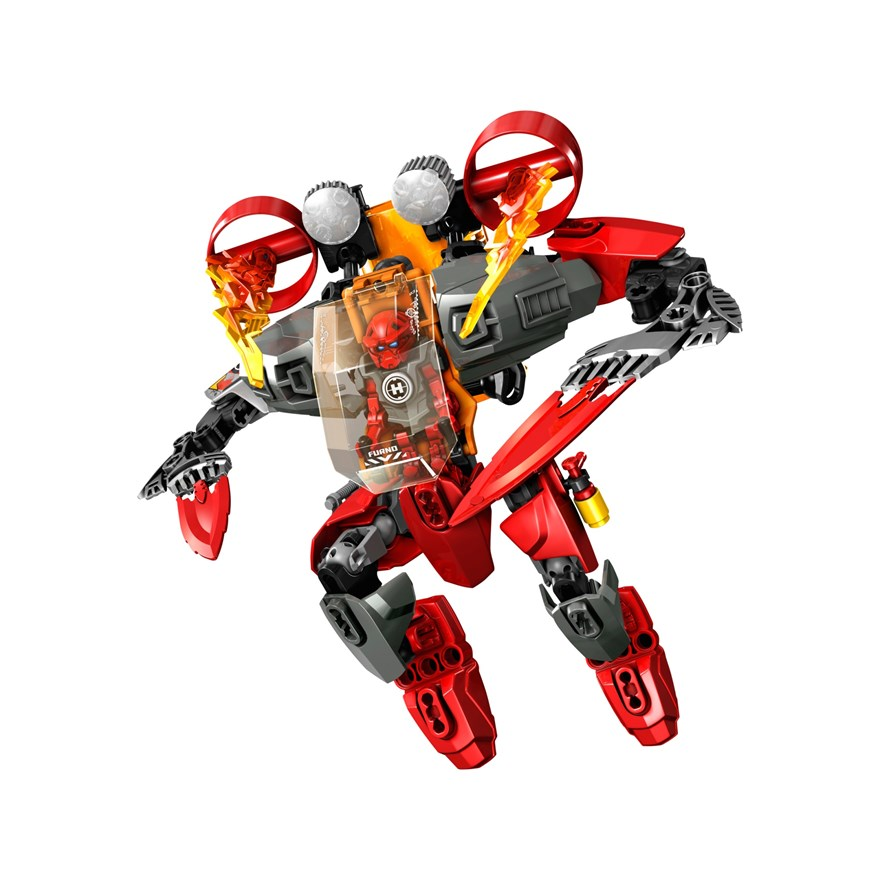 LEGO Hero Factory Furno Jet Machine 44018 image-7