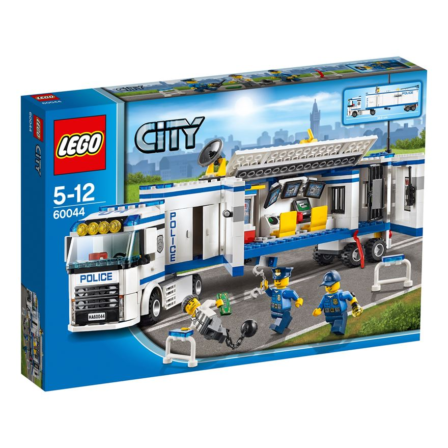 LEGO City Mobile Police Unit 60044 image-0
