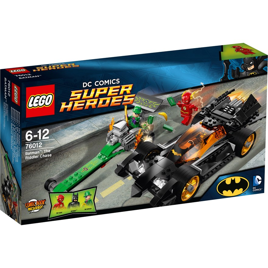 LEGO Superheroes The Riddler Chase 76012 image-0