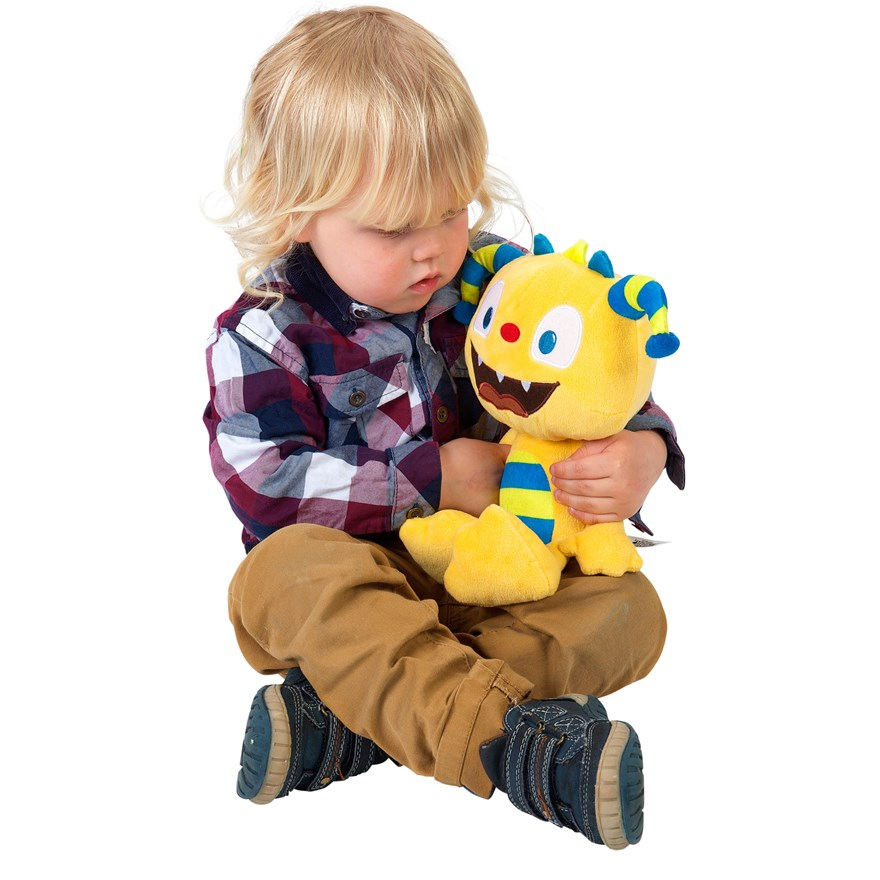 Henry Hugglemonster Soft Toy Talker image-3