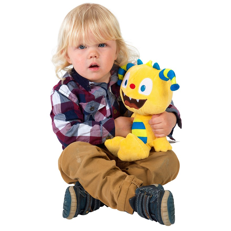 Henry Hugglemonster Soft Toy Talker image-4
