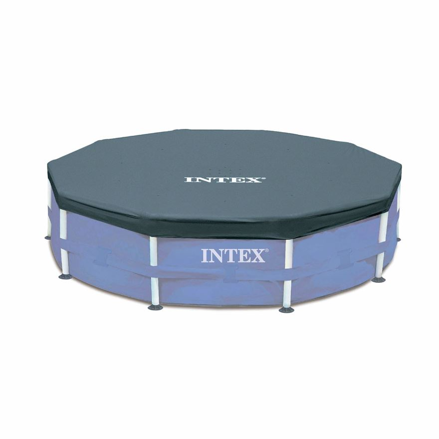 Intex 10ft Round Pool Cover image-0