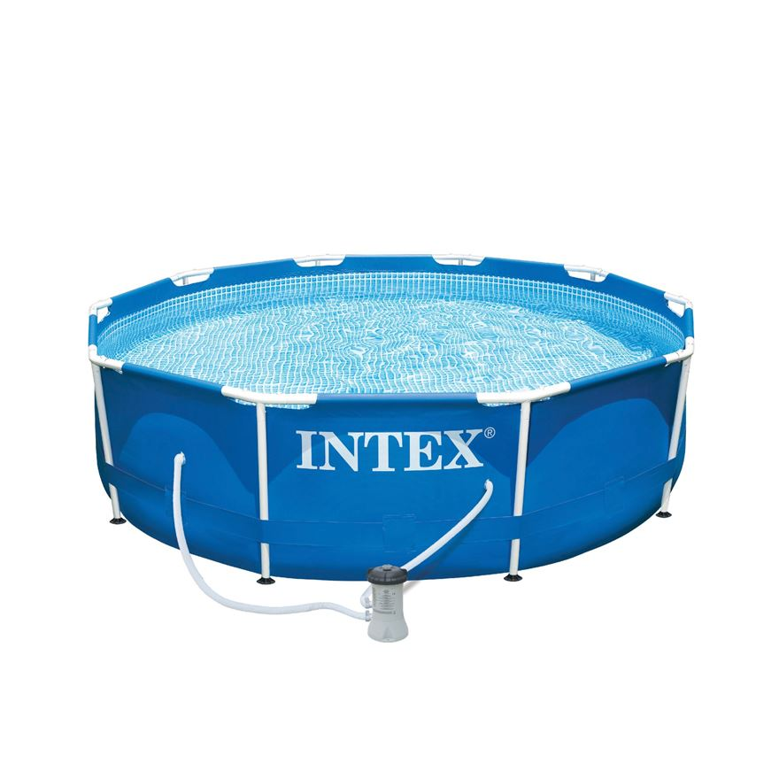 10ft Metal Frame Pool and Pump