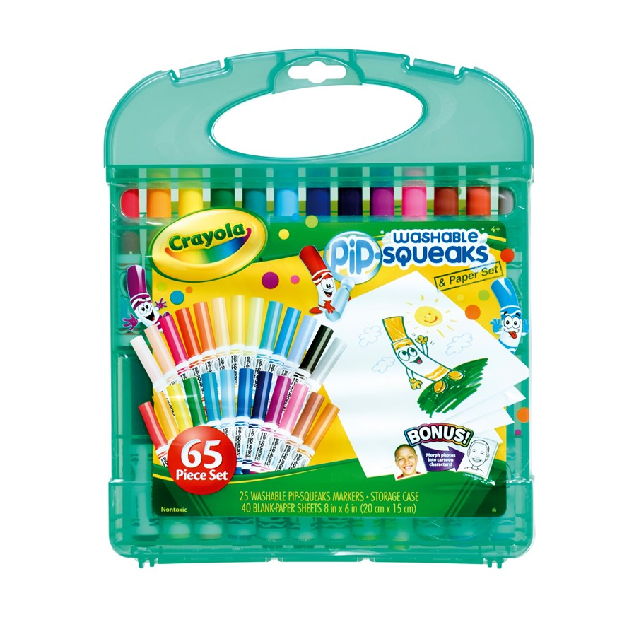 Crayola Pipsqueaks Marker and Paper Set image-0