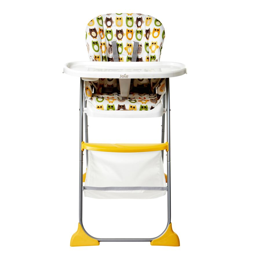 Joie Mimzy Snacker Highchair - Ollie Owl image-0