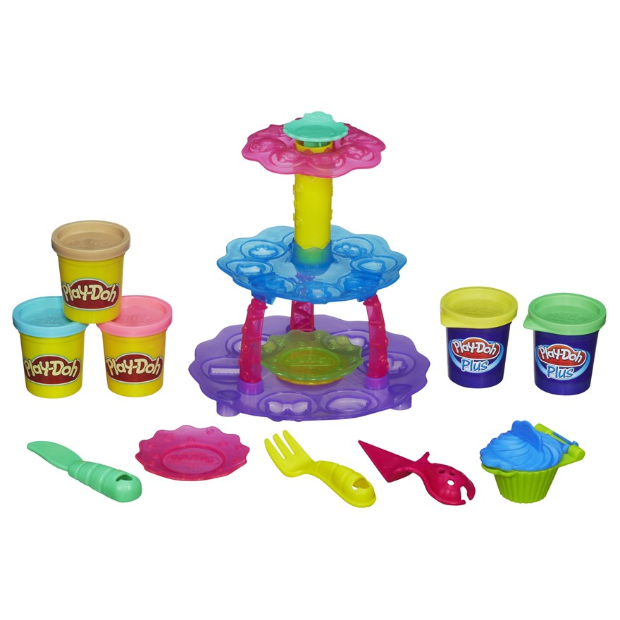 Play-Doh Cupcake Tower image-0