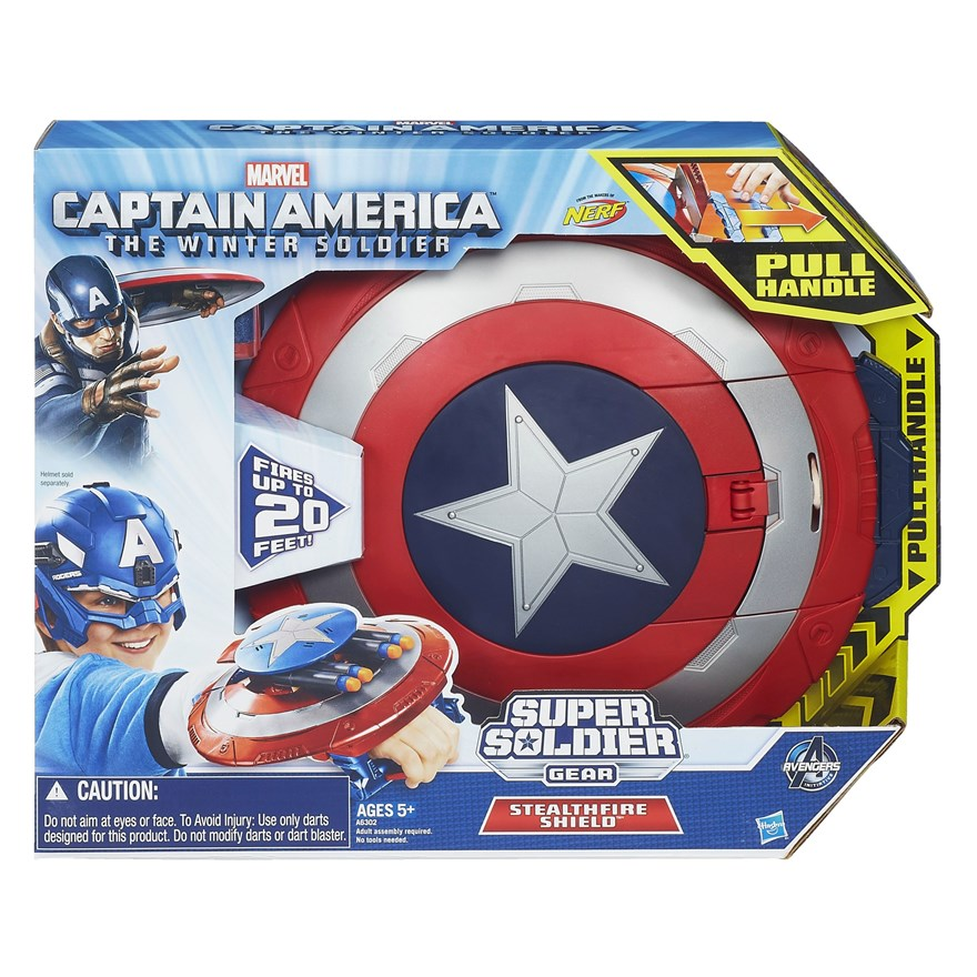 Avenagers Captain America Stealthfield Shield image-4