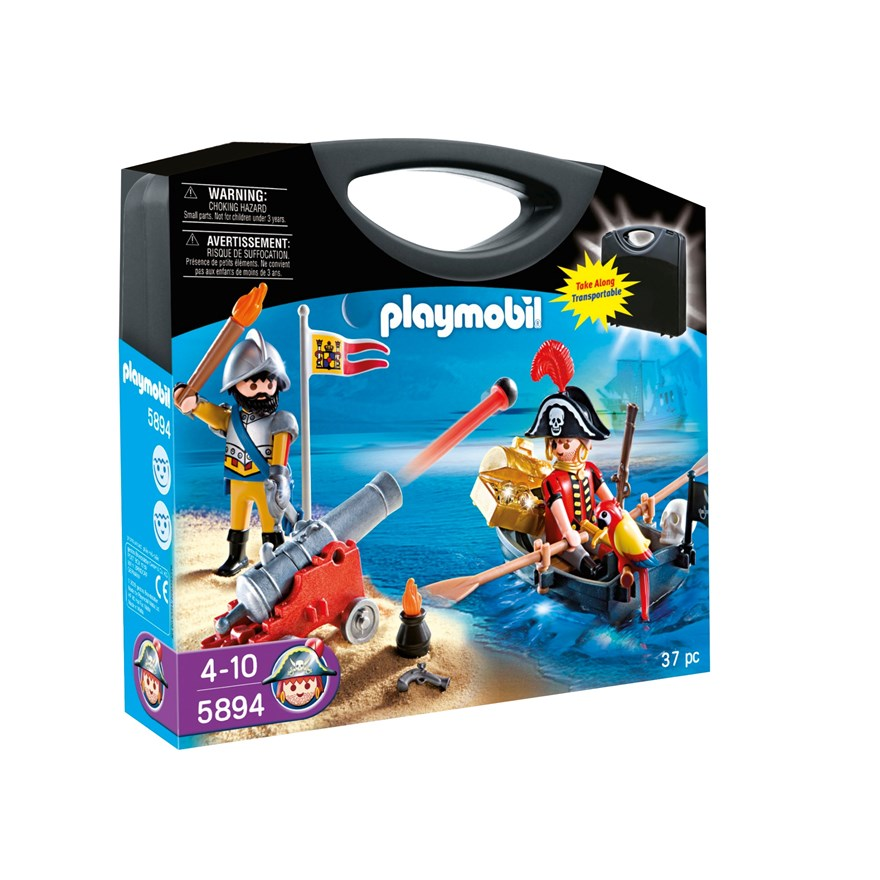 Playmobil Pirates Carrying Case 5894 image-0