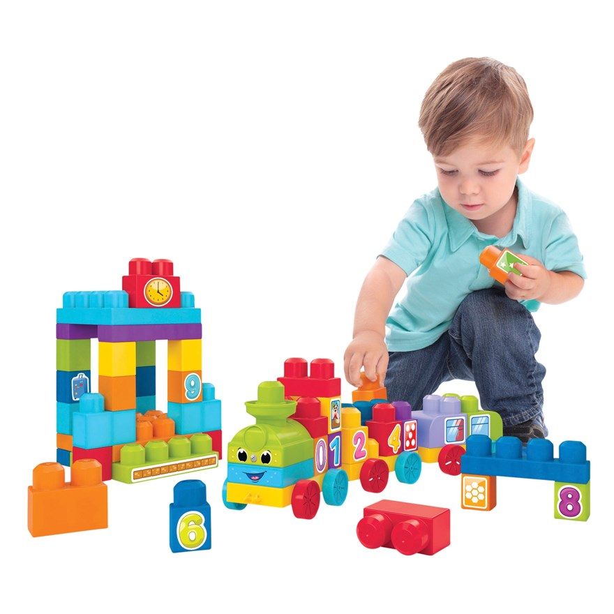 Mega Bloks 123 Learning Train image-0