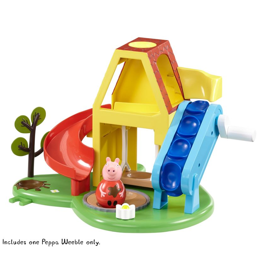 Peppa Pig Weebles Wind and Wobble Playhouse image-2