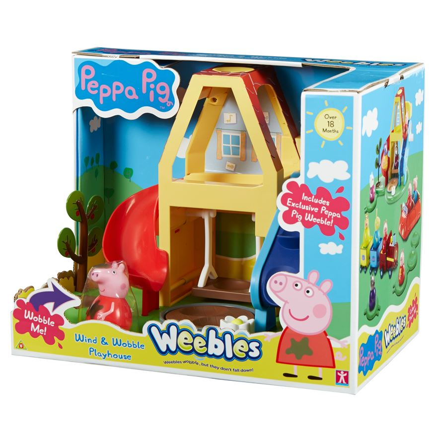 Peppa Pig Weebles Wind and Wobble Playhouse image-4