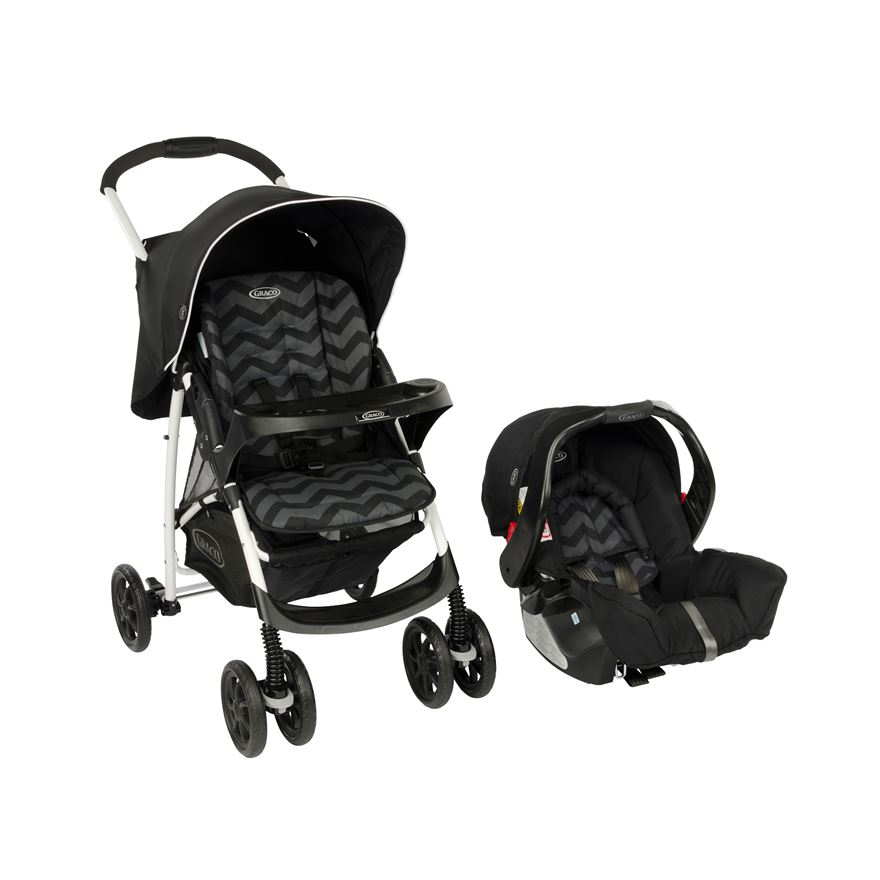 Graco Mirage Travel System - Zig Zag image-0