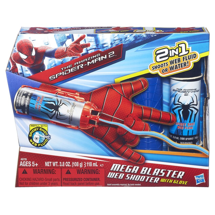 Amazing Spider-Man 2 Mega Blaster Web Shooter with Glove image-5