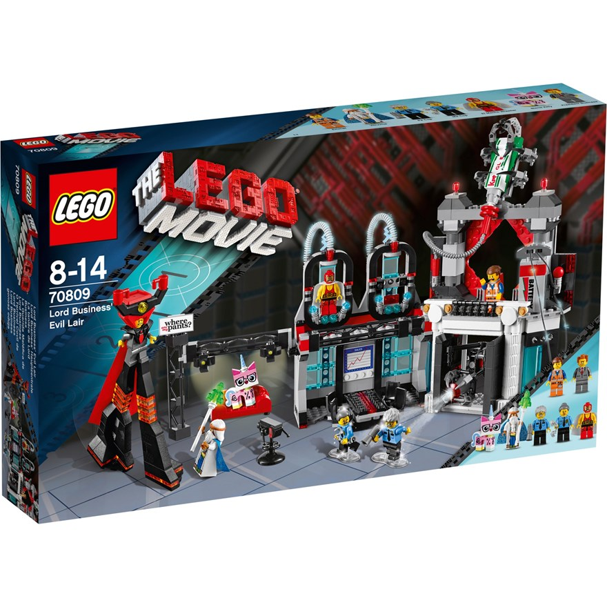 LEGO Movie Lord Business Evil Lair 70809 image-0