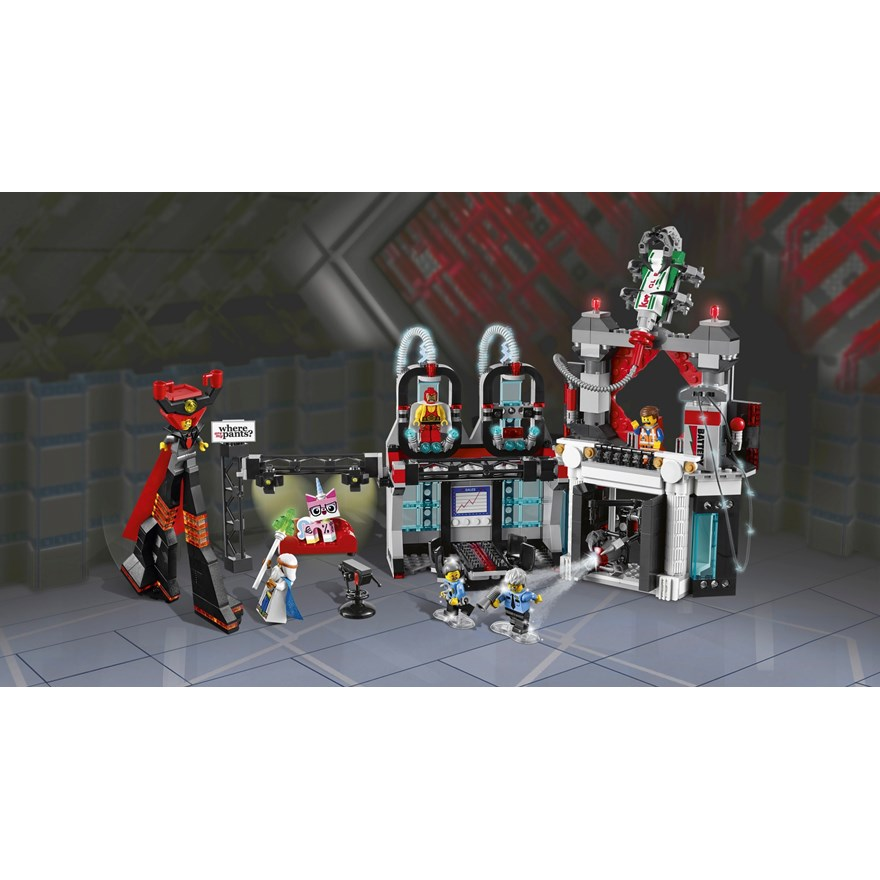 LEGO Movie Lord Business Evil Lair 70809 image-1