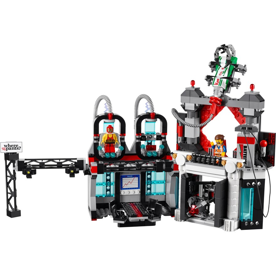 LEGO Movie Lord Business Evil Lair 70809 image-4