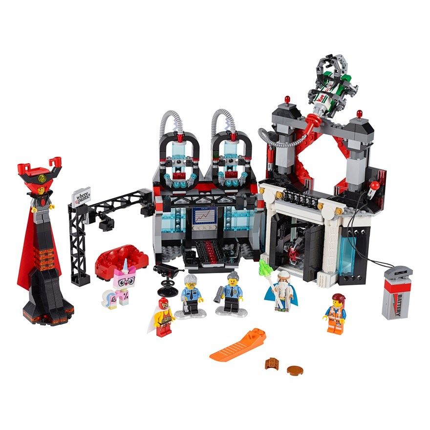 LEGO Movie Lord Business Evil Lair 70809 image-7