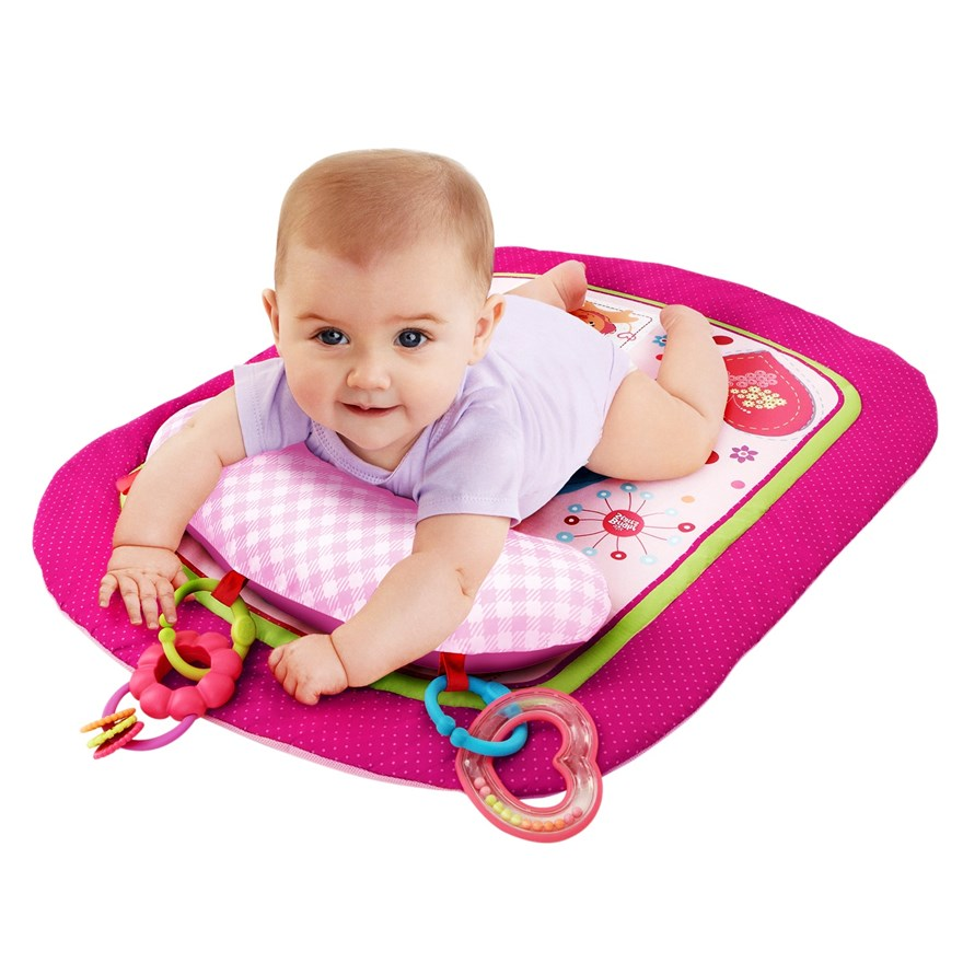 Bright Starts Sweet Savanna Prop & Play Mat image-0