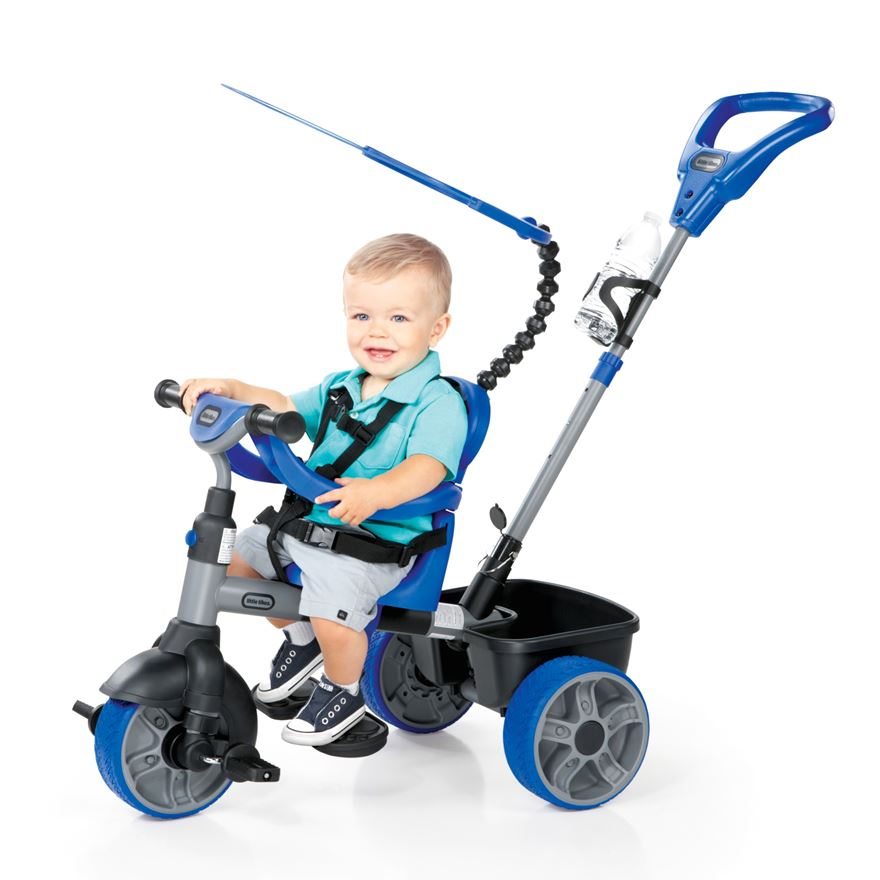 Little Tikes 4-in-1 Trike Blue image-0
