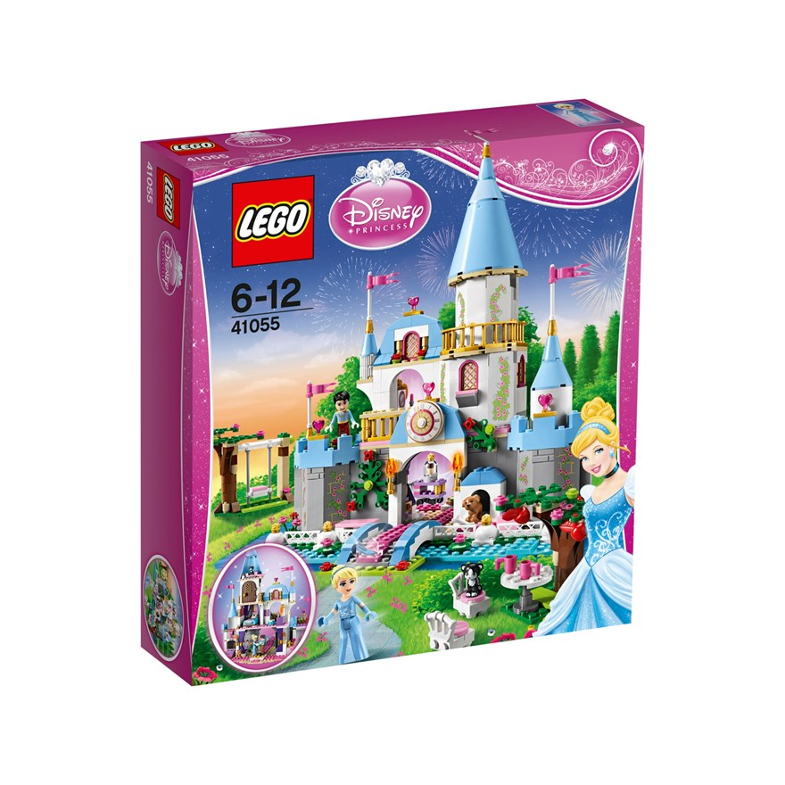 LEGO Disney Princess Cinderella Romantic Castle 41055 image-0