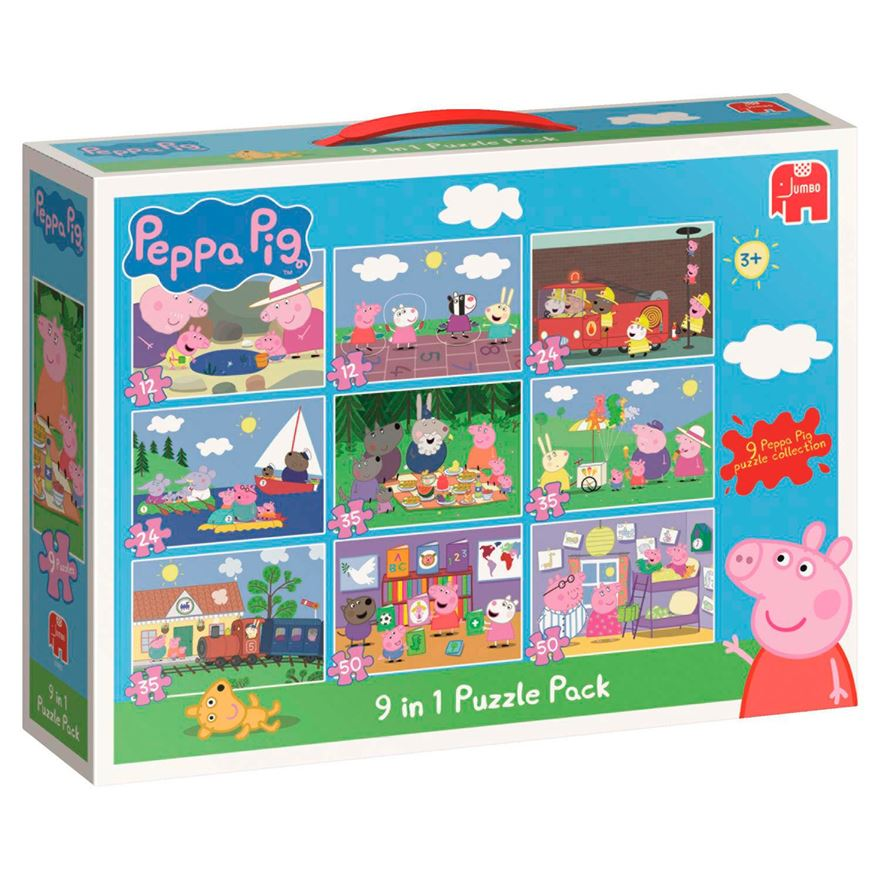 Peppa Pig 9 in 1 Bumper Pack image-0