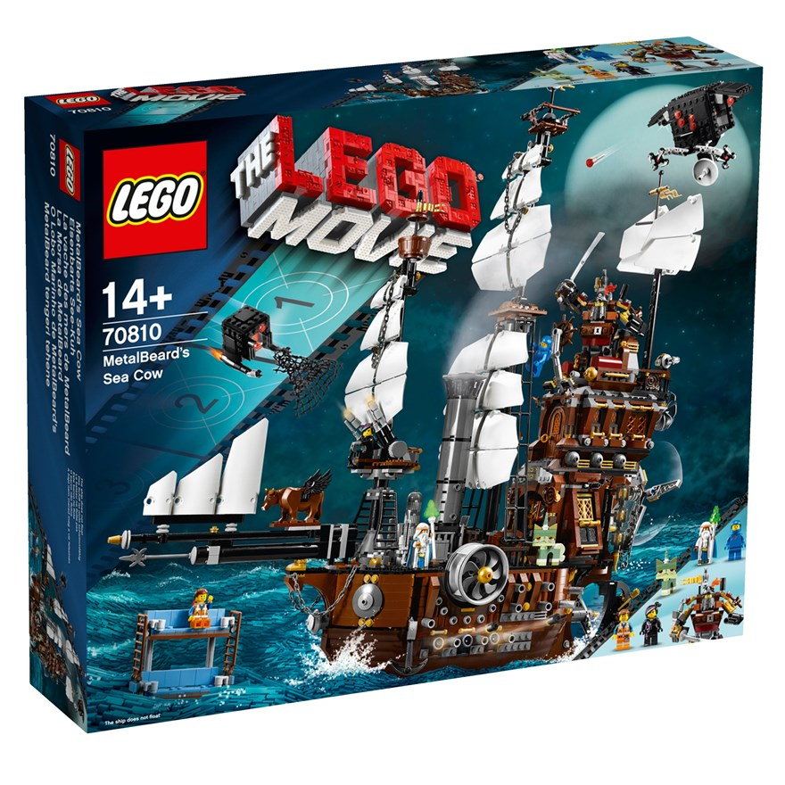 LEGO Movie MetalBeards Sea Cow 70810 image-0
