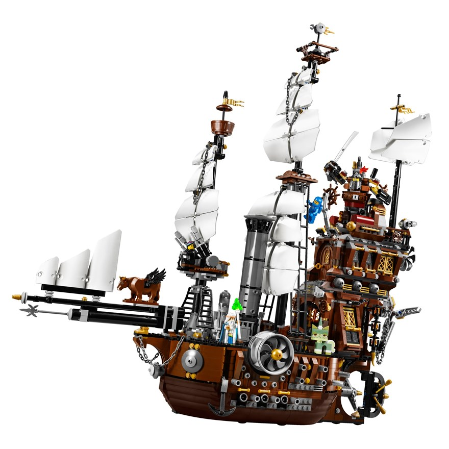 LEGO Movie MetalBeards Sea Cow 70810 image-2