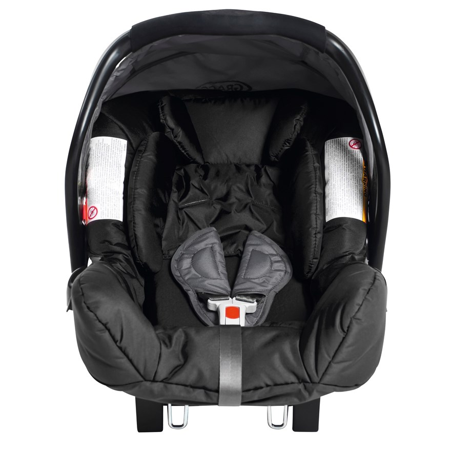 Graco Junior Baby Group 0+ Car Seat Charcoal image-0