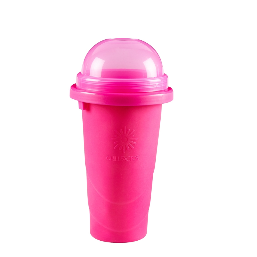 Chill Factor Squeeze Cup Slushy Maker Pink image-1